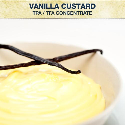 TPA / TFA Vanilla Custard Concentrate