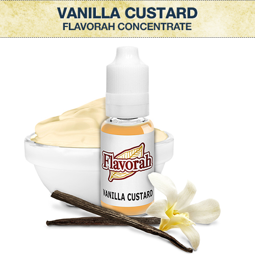 Flavorah Vanilla Custard Concentrate