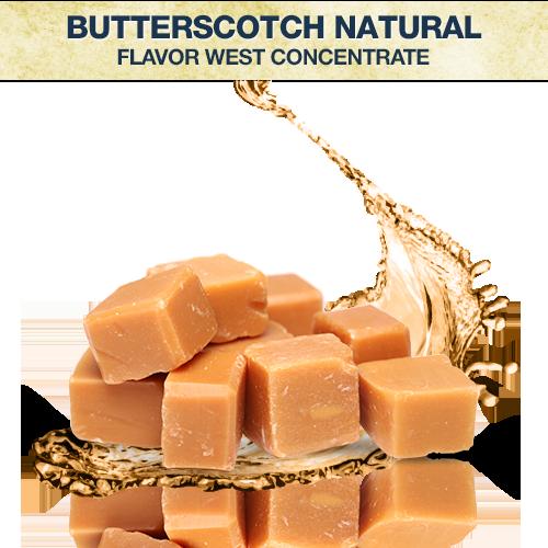 Flavor West Butterscotch Natural Concentrate
