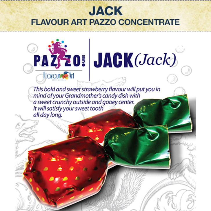 Flavour Art (Pazzo) Jack Concentrate