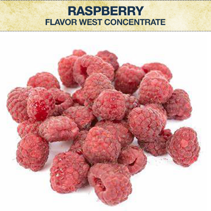 Flavor West Raspberry Flavour Concentrate