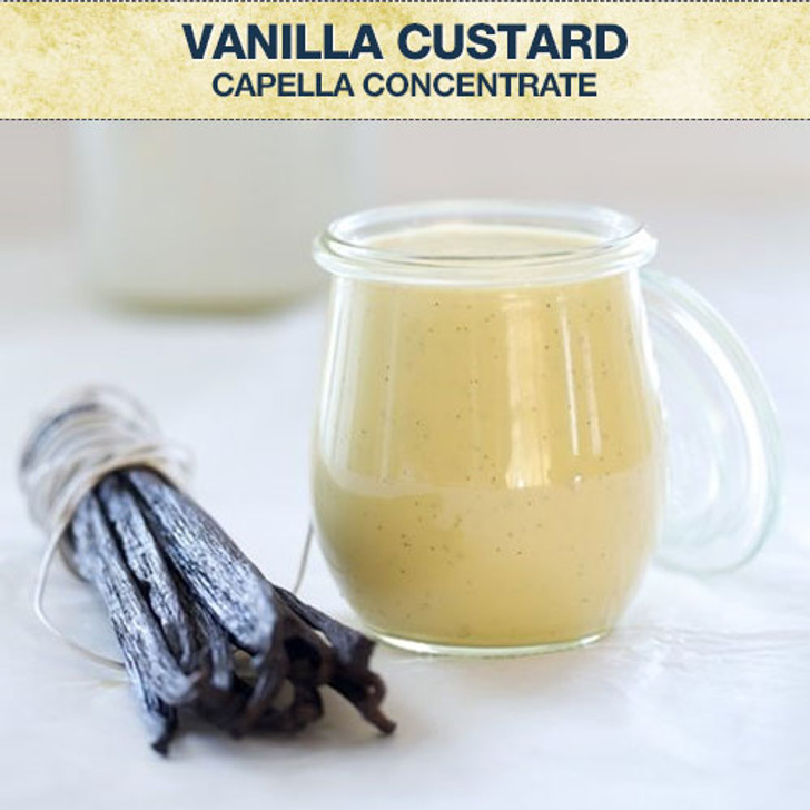 Capella Vanilla Custard Concentrate