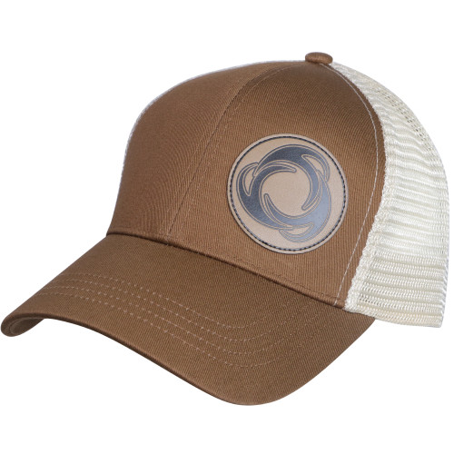 Right View Perfect Circle - Eco Trucker Hat BRN/OST