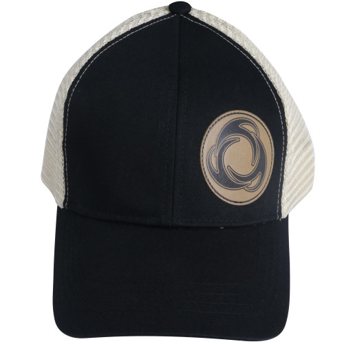 Right View Perfect Circle - Eco Trucker Hat BLK/OST
