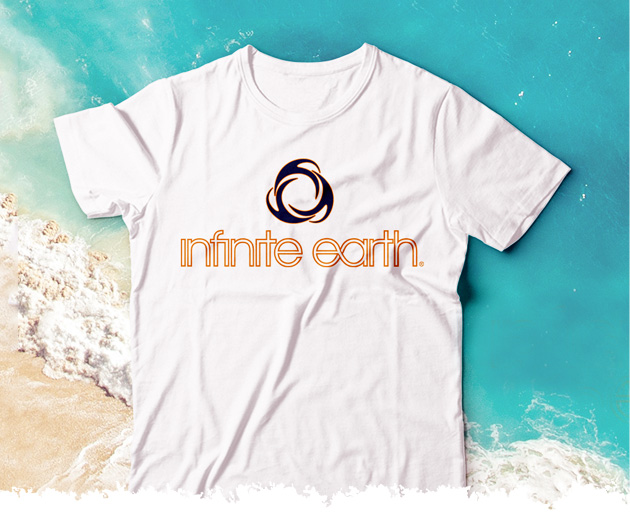 White Infinite Earth Category Tshirt