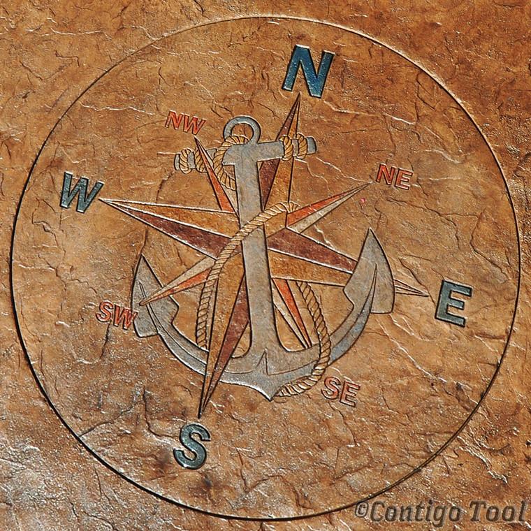 """Mariner's Medallion 60"""" x 60"""""""