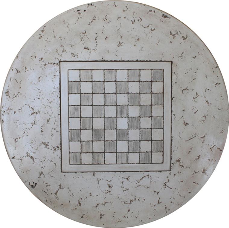 "Checkerboard Table Top Mold 48"""