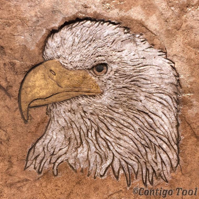 Eagle Head Stamp
