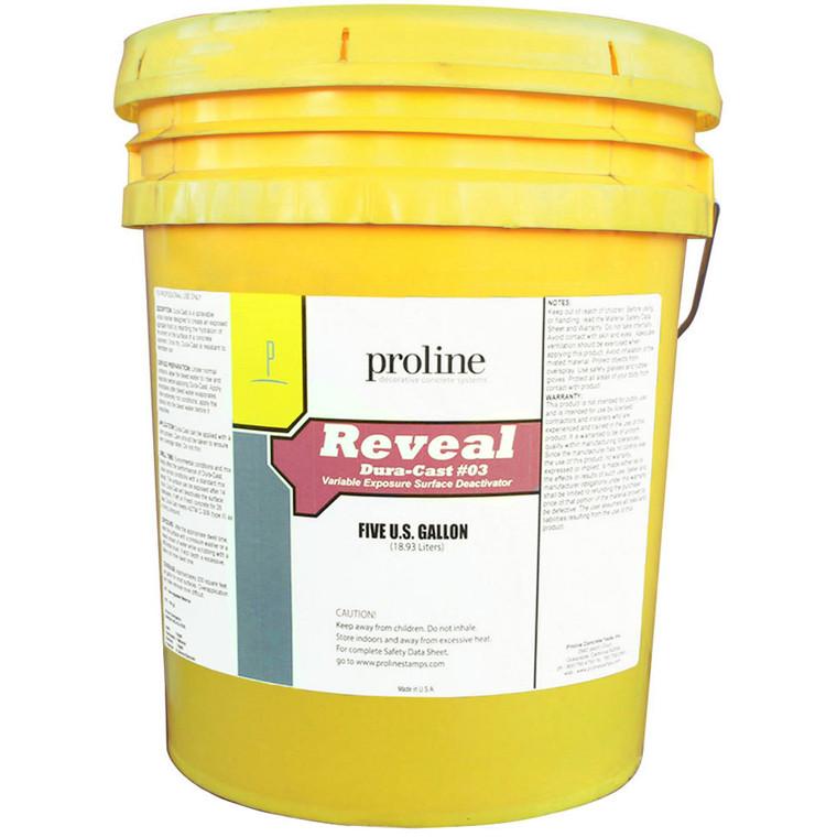 Proline Reveal Deactivator Violet #3 - 5 Gal. Pail
