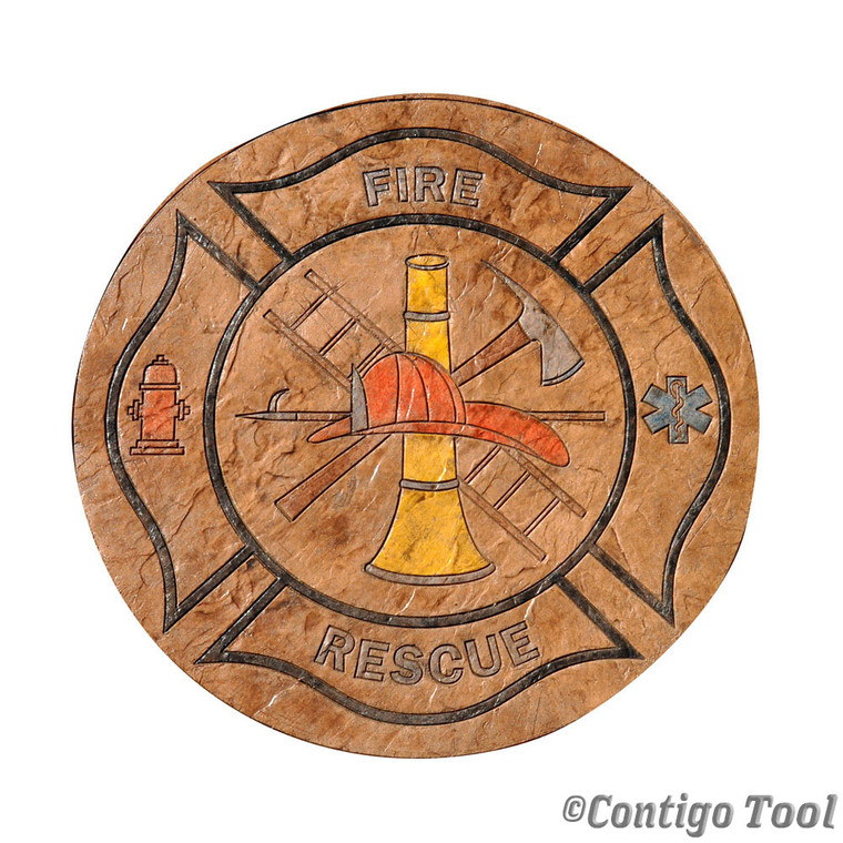 Fire Rescue Table Top Mold 48""