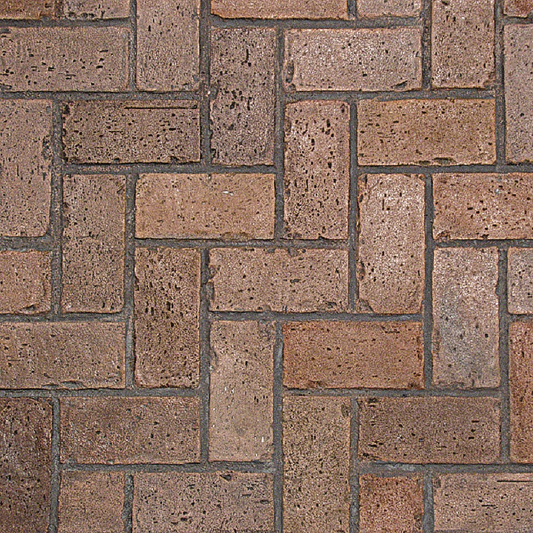 Herringbone Used Brick Stamps