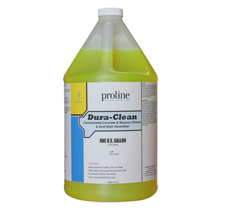 Proline Dura-Clean Concrete & Masonry Cleaner & Acid Neutralizer - 1 Gal.