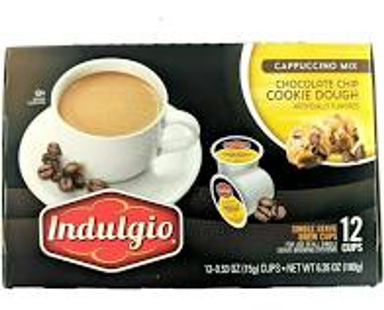 Chocolate Chip Cookie Dough flavored Cappuccino