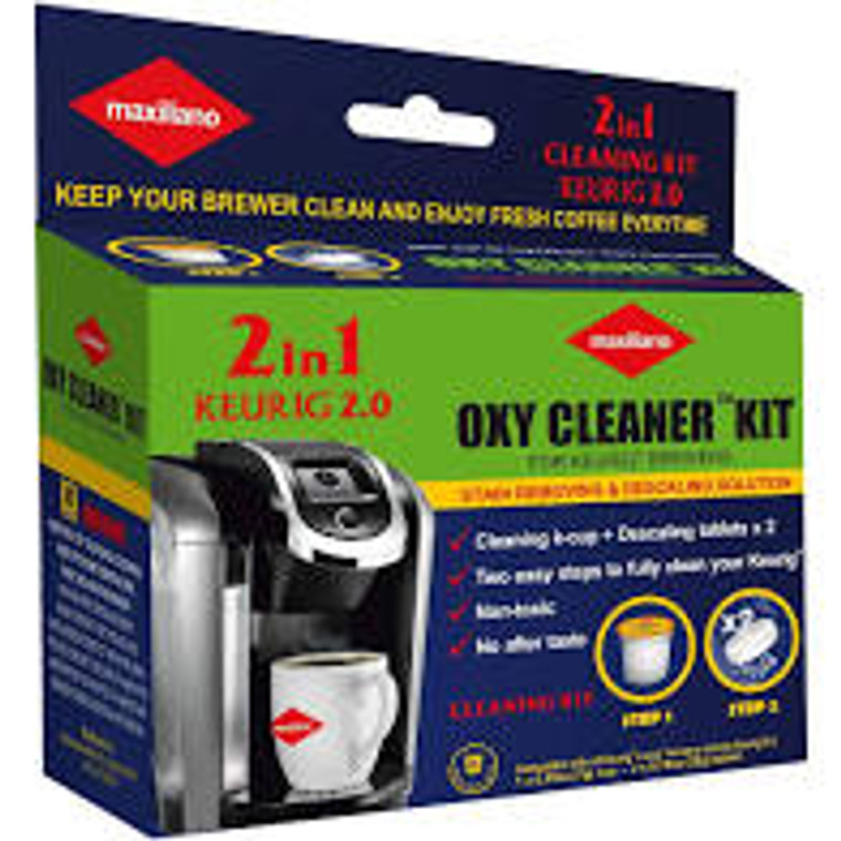 PROFESSIONAL & HIGH EFFICIENT: powerful descaling kit for K-CUP Keurig brewers  that prolongs the life of the coffee machine, improves the taste of coffee. Phosphate and Chlorine free, no after taste.