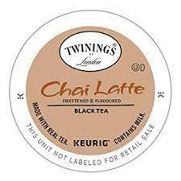 Creamed and Sweetened Chai flavored Black Tea