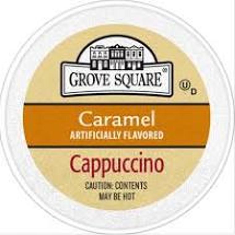 Caramel flavored Cappuccino