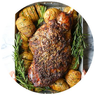 lamb-roast