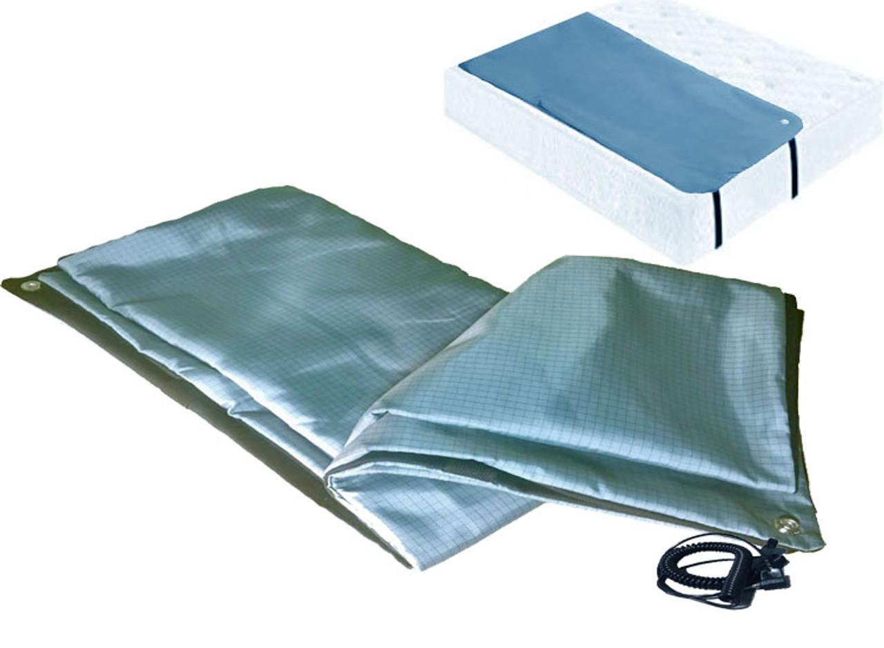 NATURAL Earthing Carbon Threads Grounding Pillow Case IMPROVES SLEEP EMF DETOX