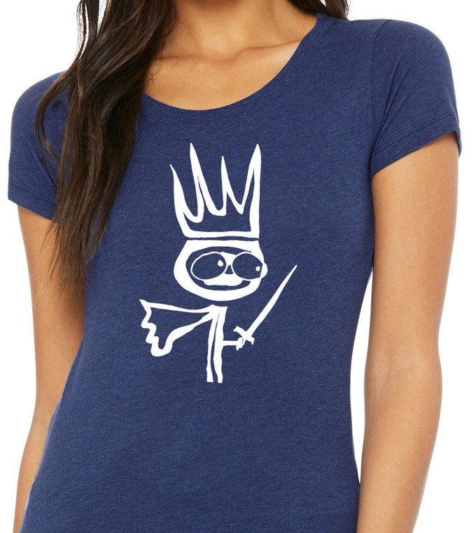 King - Womens Triblend Tee