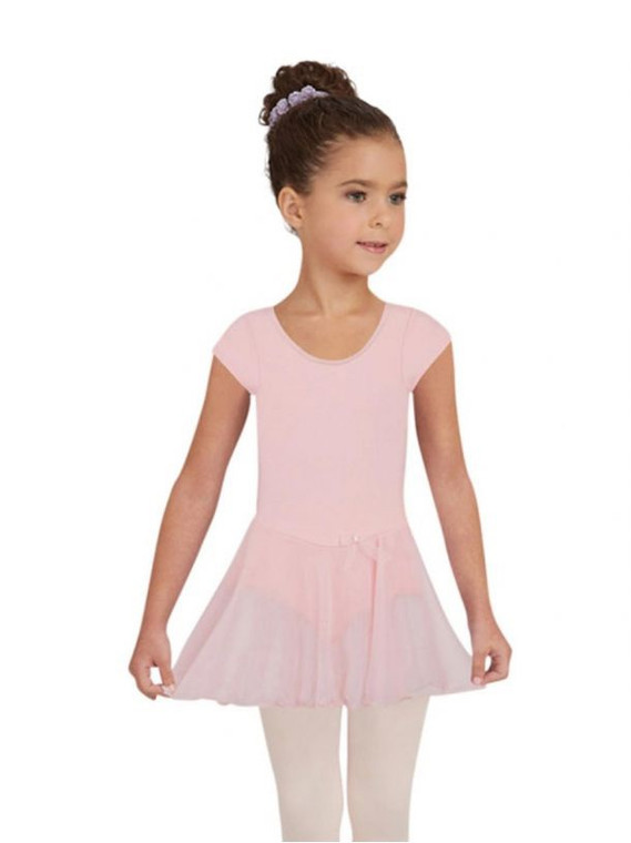 Capezio Short Sleeve Nylon Dress