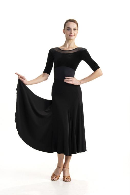 B203 Fallaway Ballroom Skirt