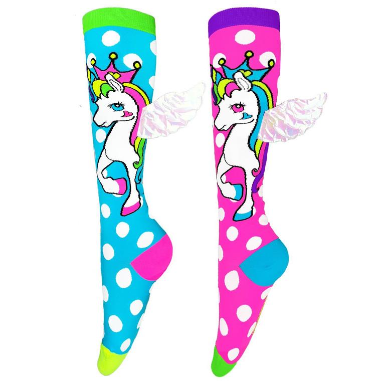 Madmia Flying Unicorn Socks