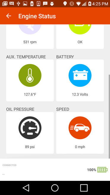 EngineStat Pro Plus - real time oil pressure monitoring and dual
