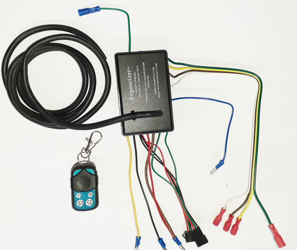 EngineStat Remote Doors and Trunk.  With key fob and control modules and door actuators.