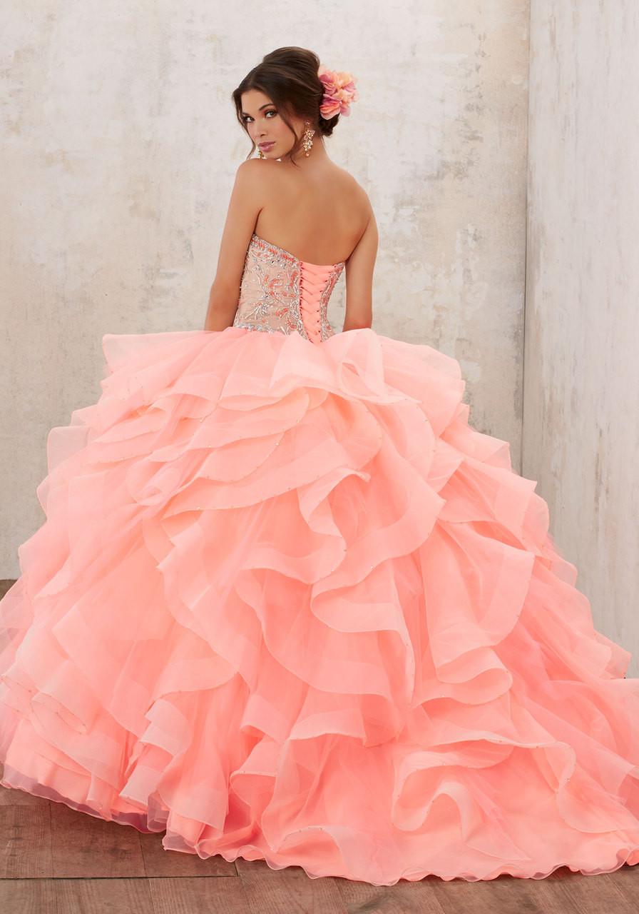 be9bd26652 Mori Lee Vizcaya Quinceañera Dress Style 89126CR - Joyful Events Store