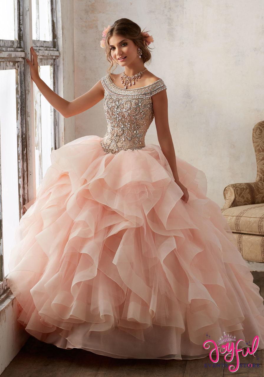 e0e8fb1a430 Mori Lee Vizcaya Quinceanera Dress Style 89138 - Joyful Events Store