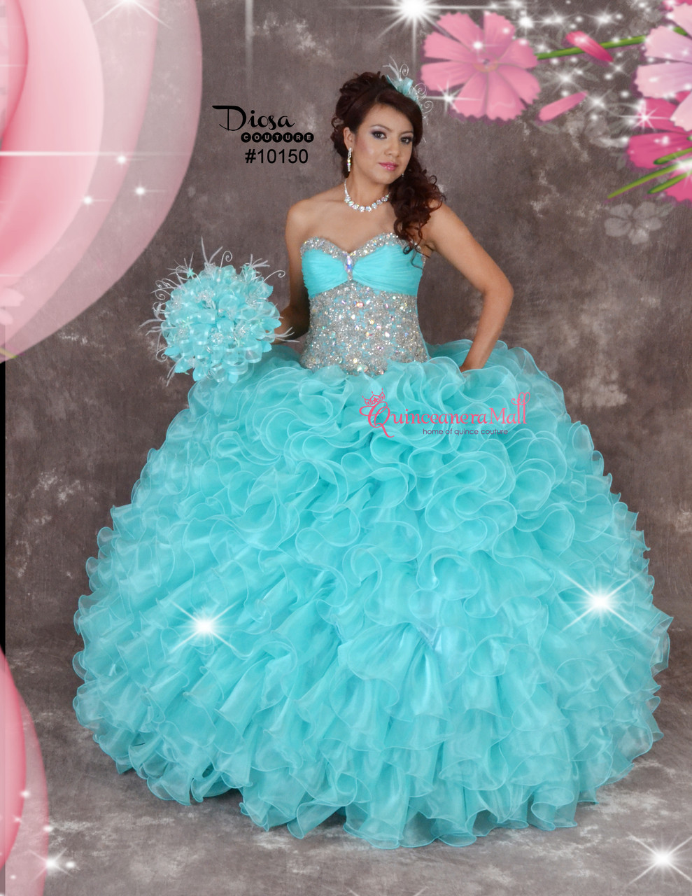 7c92abf242 Quinceanera Dress  10150JES - Joyful Events Store