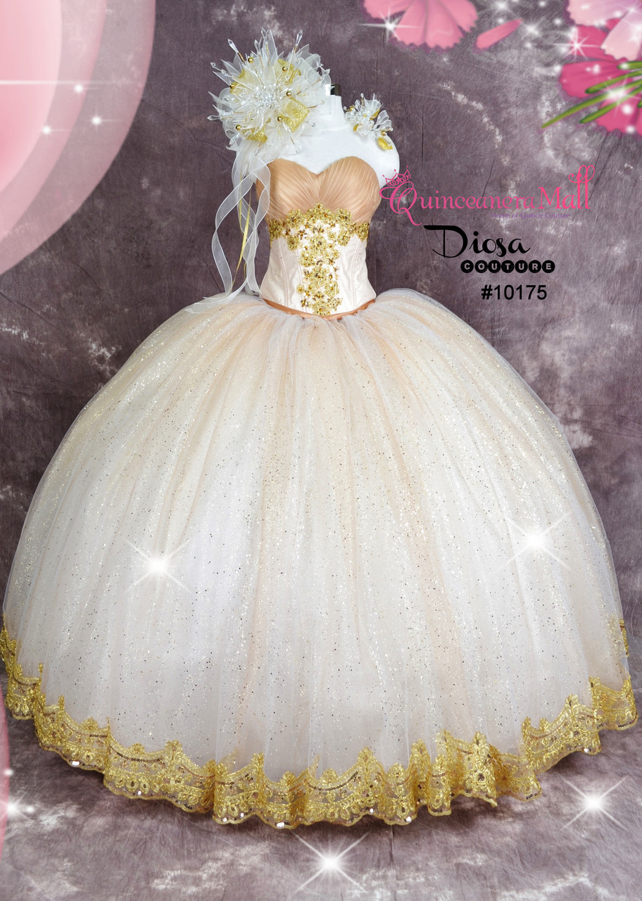 da119f54a1 Extra Poofy Quinceanera Princess Style Dress  10175JES - Joyful ...