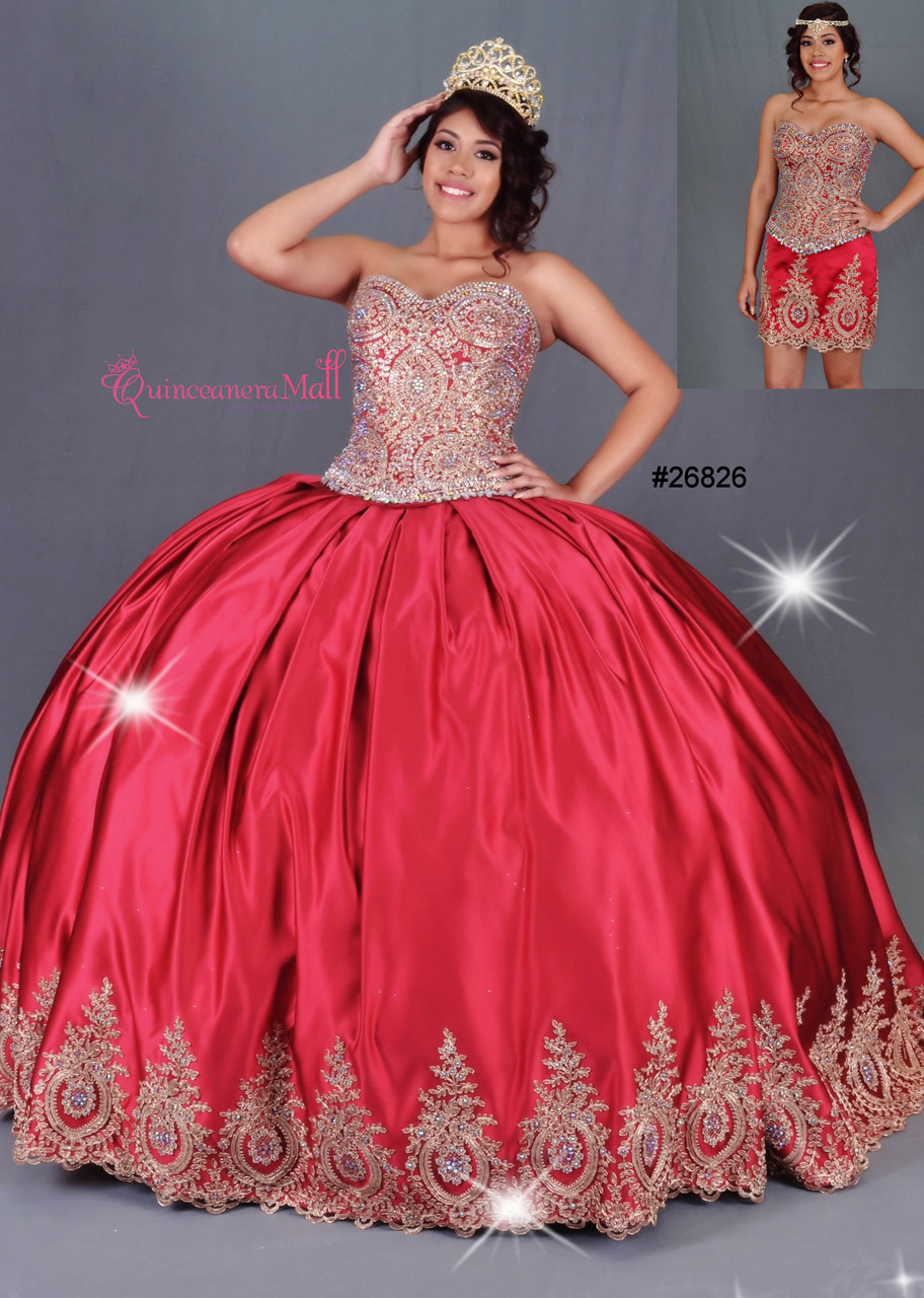 b65144238bf Quinceanera Dress  26826RDJES ...