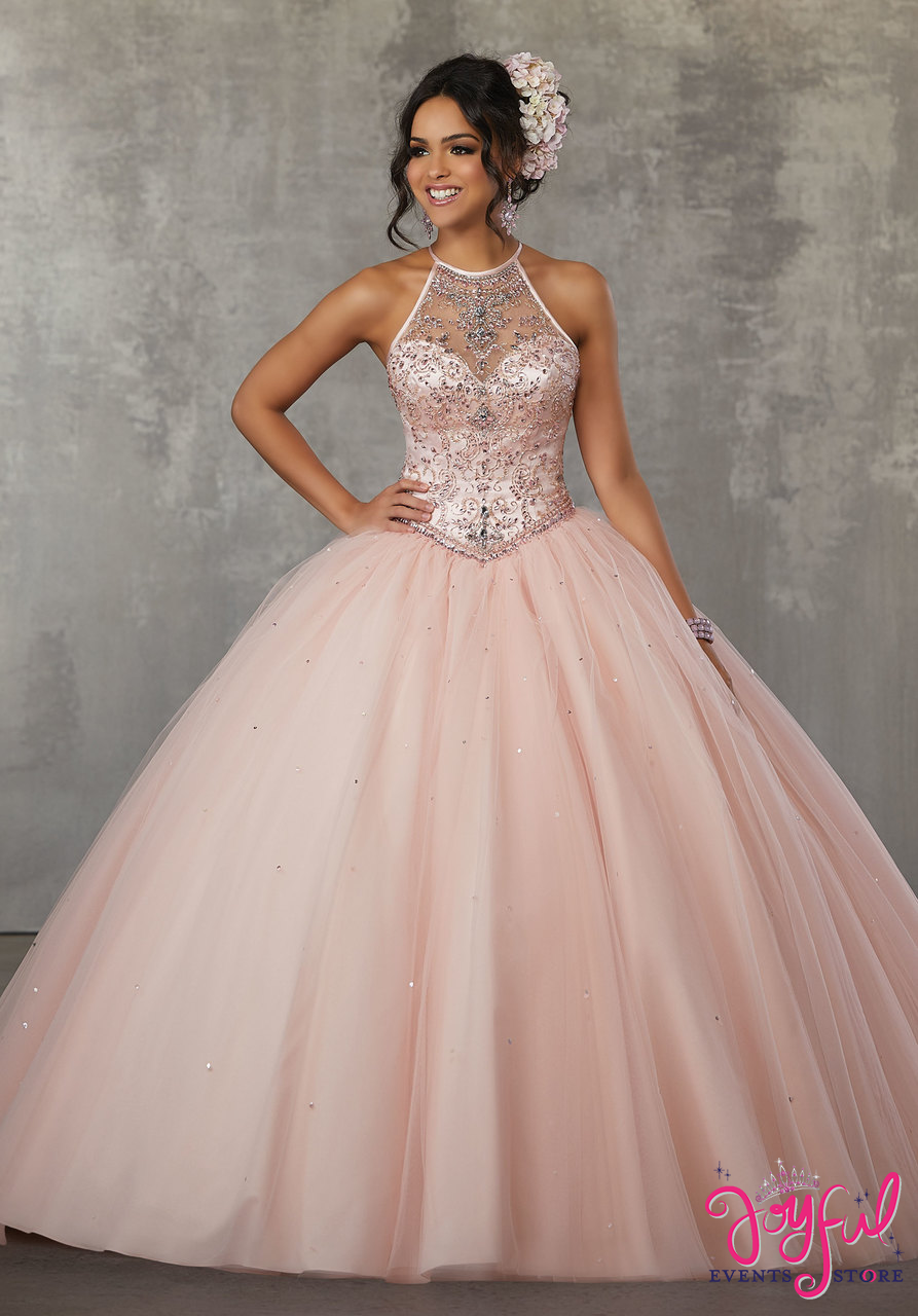 04c030a827d Morilee Vizcaya Quinceanera Dress 89117 JEWELED BEADING ON FLOUNCED ORGANZA  BALL GOWN Matching Stole. Available in Red