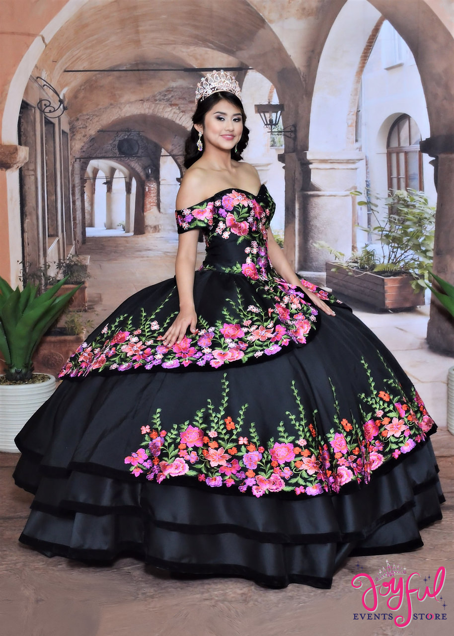 4939dd99f08 Quinceanera Charra Dress  80429JE - Joyful Events Store
