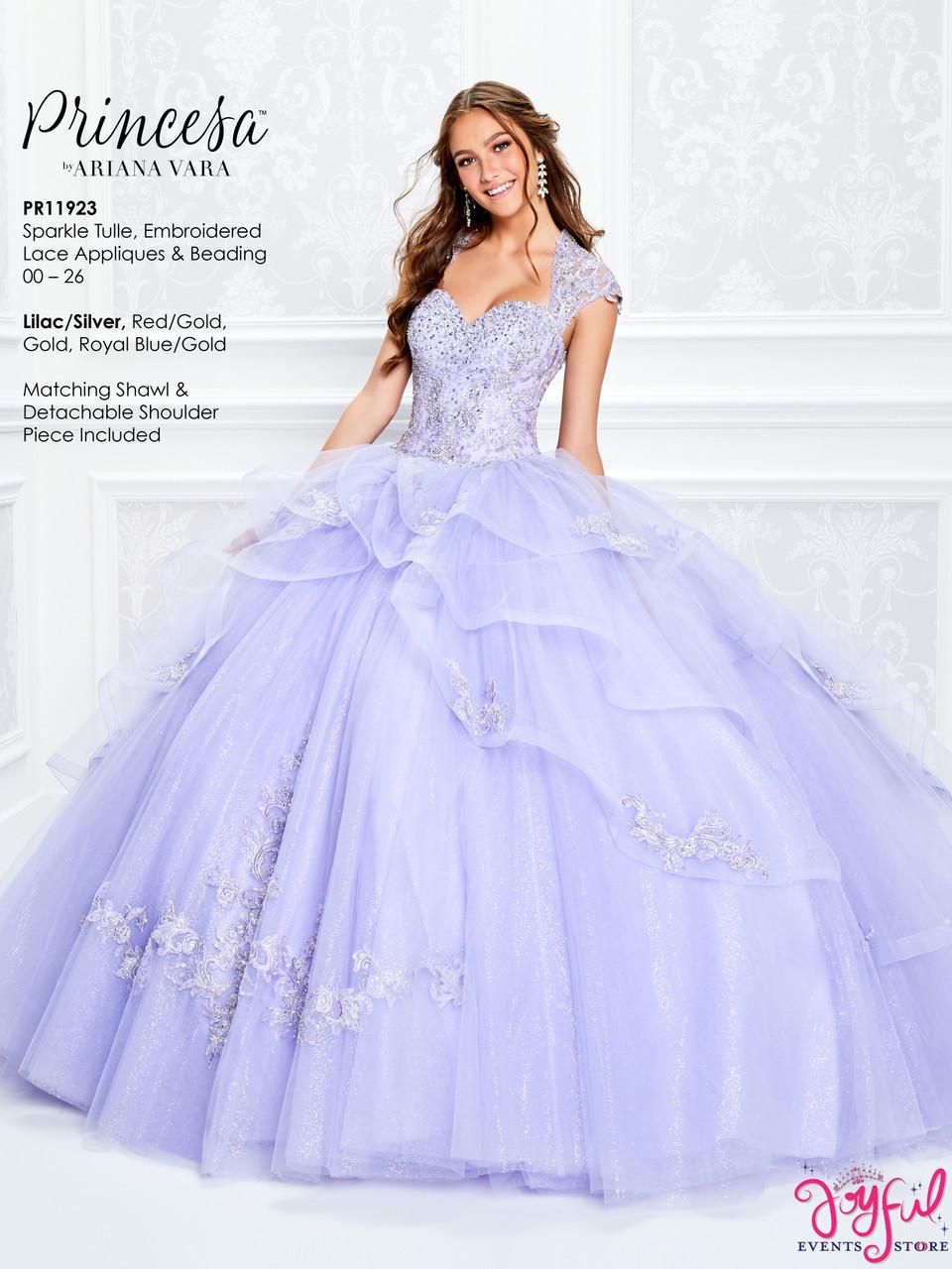 Lilac Quinceanera Dress PR11923LCS