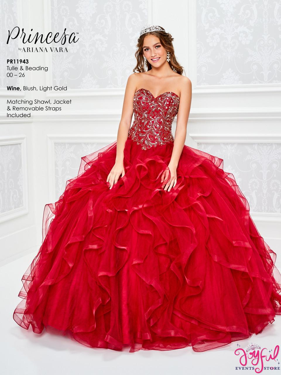 Light Gold Quinceanera Dress Pr11943lgd