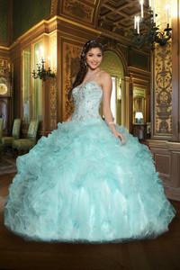 Aqua Quinceanera Dresses