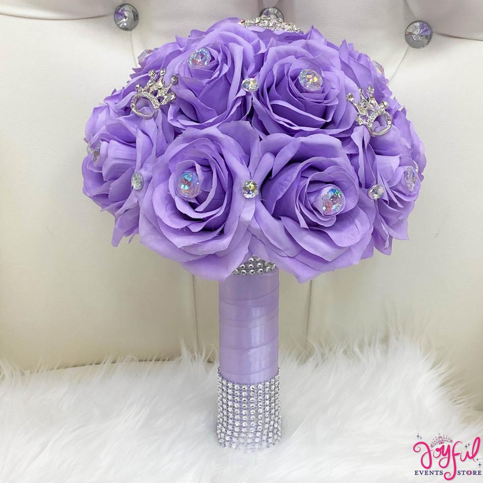 Lilac Flower Bouquet  #RAC96