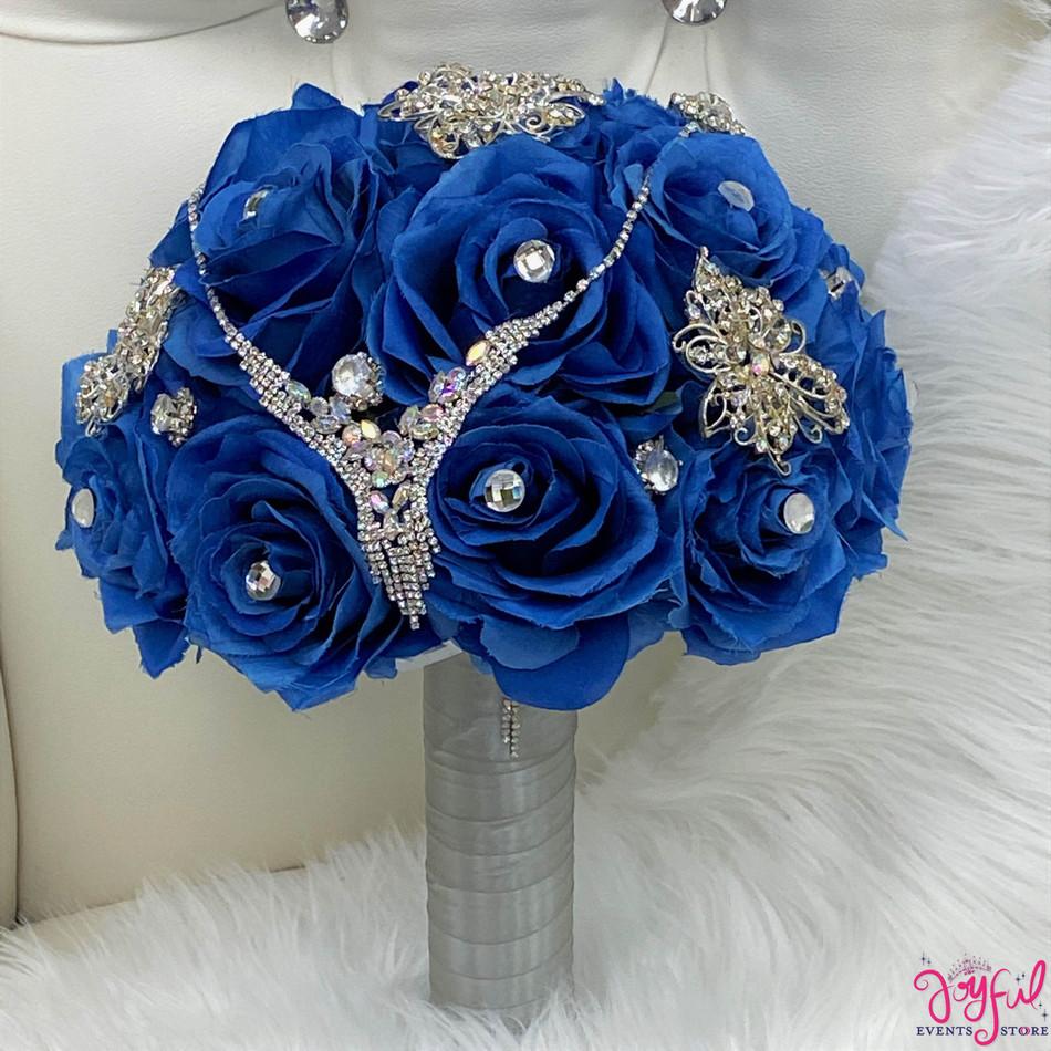 Blue Flower Bouquet #RAC100