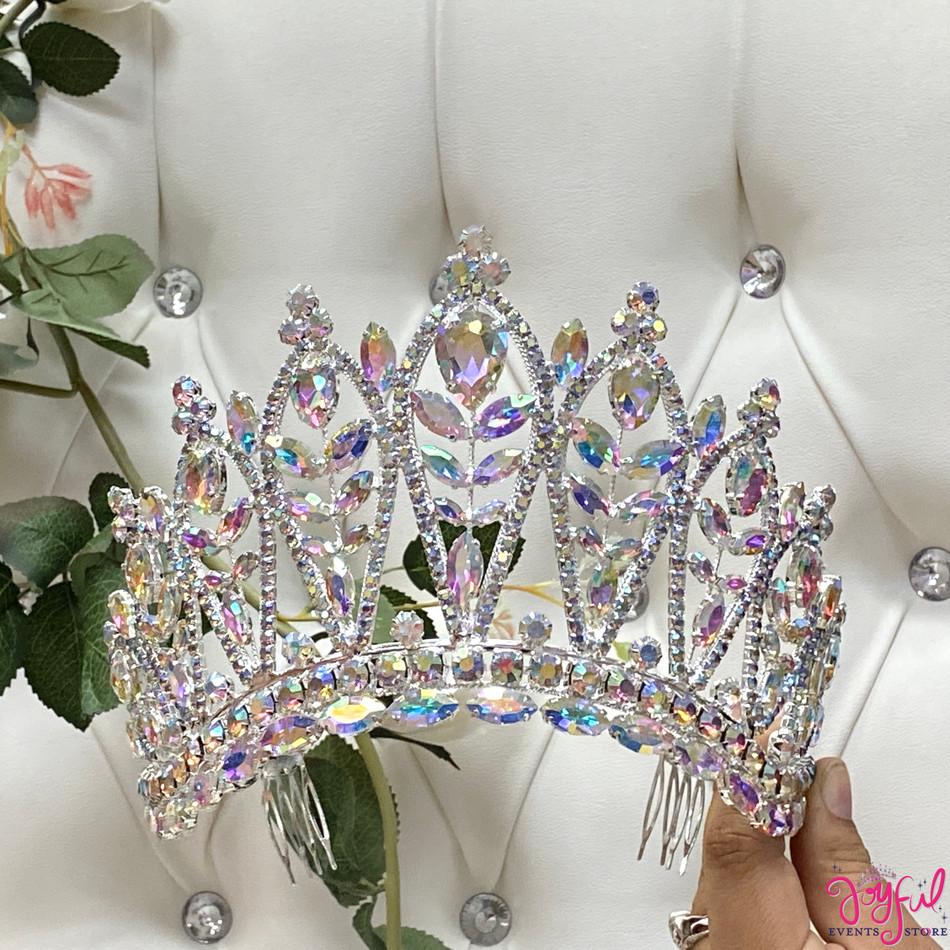 "5"" Silver Princess Tiara #T186SV"