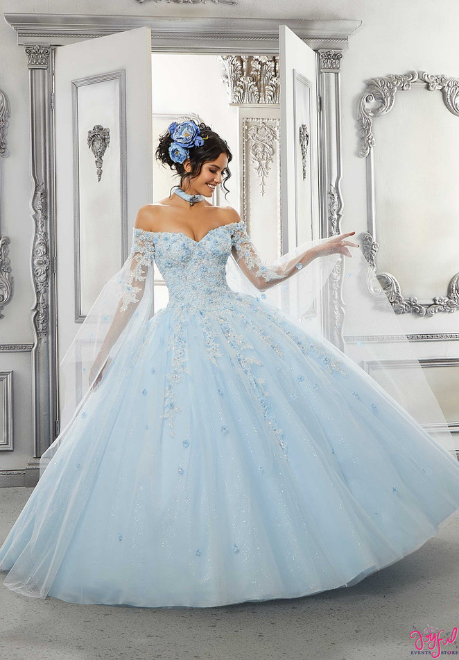 Beaded Lace and Sparkle Tulle #60143