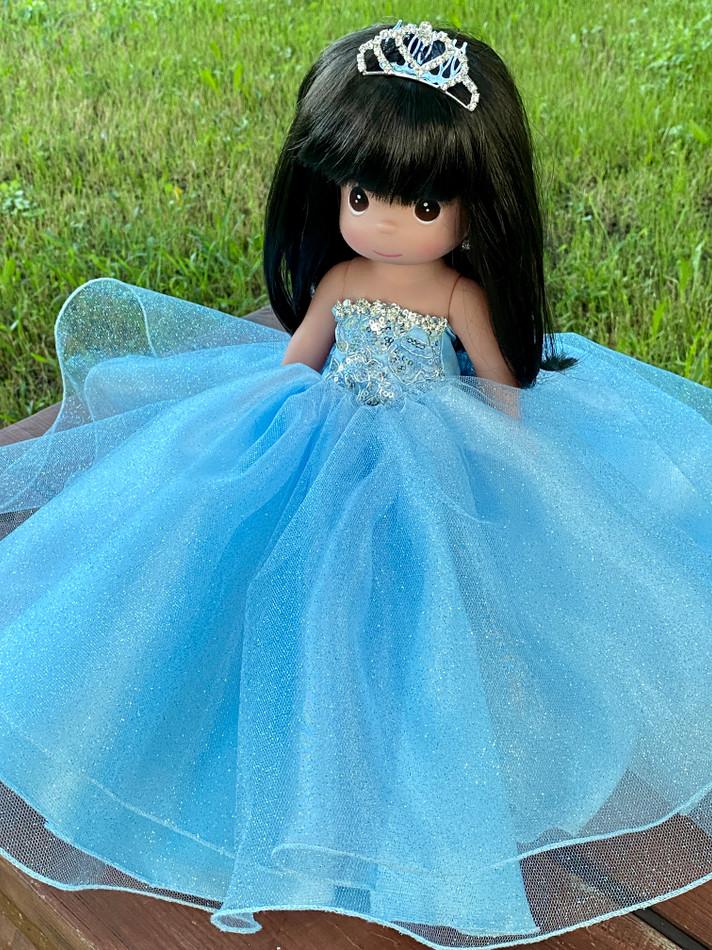 """12"""" Precious Moments Last Quinceanera Doll #QD11"""