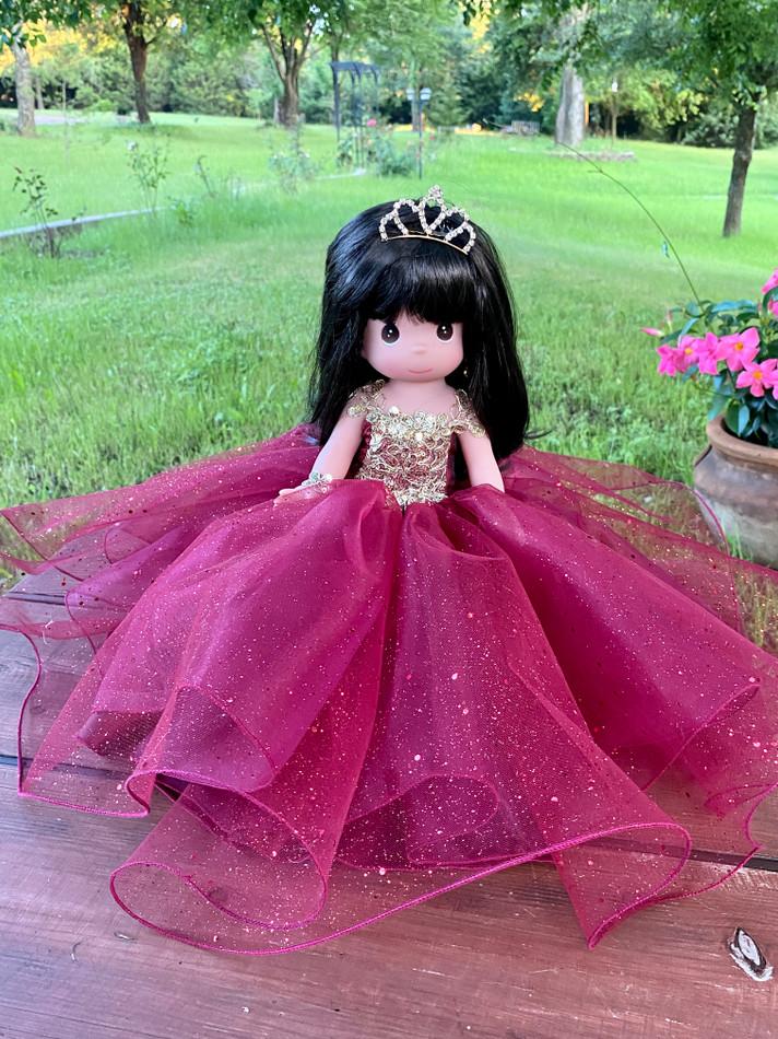 """12"""" Precious Moments Last Quinceanera Doll #QD12"""