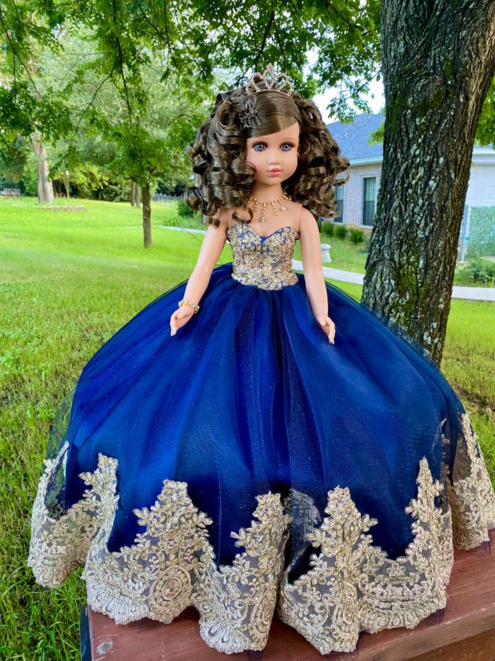 "20"" Quinceanera Last Doll or Ultima Muneca #QD72BL"