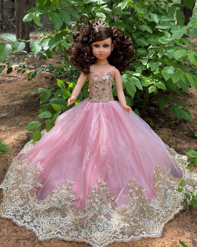 "20"" Quinceanera Last Doll or Ultima Muneca #QD72BLSH"