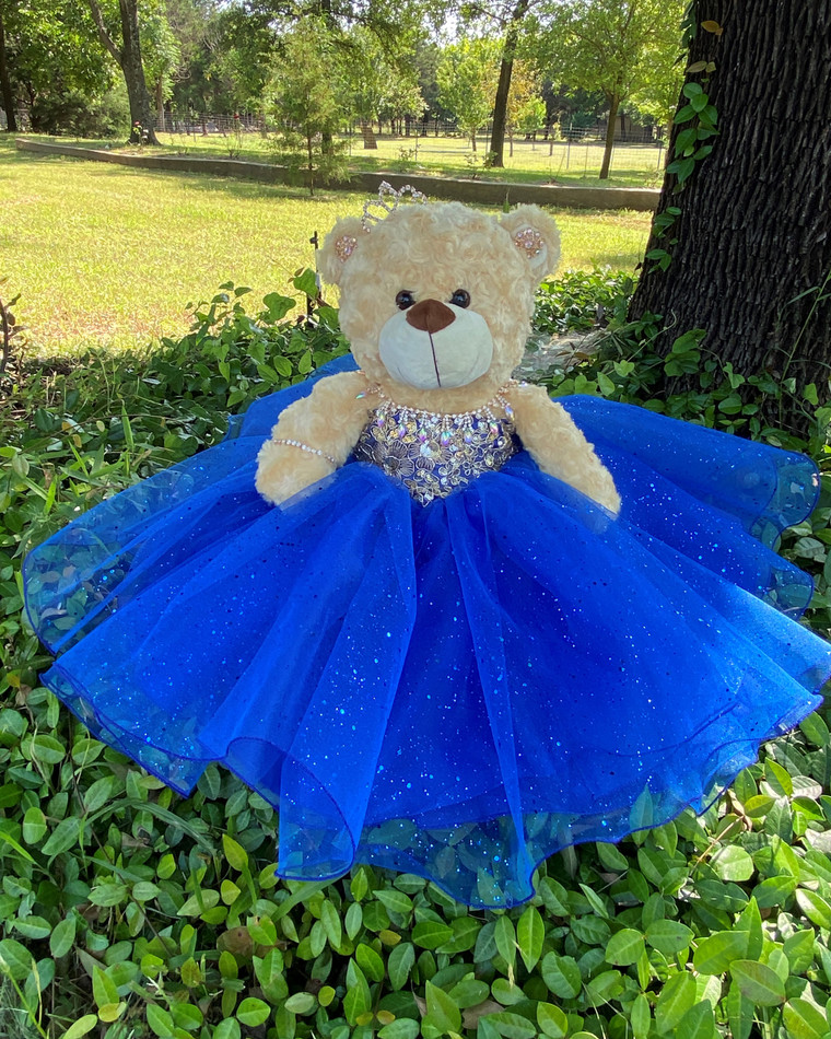 "17"" Royal Quinceanera Teddy Bear #QBR4"