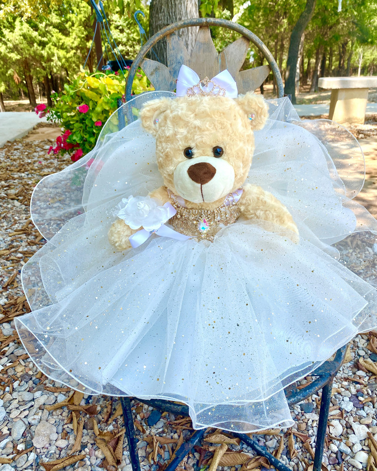 """17""""  Quinceanera Teddy Bear #QBR5WH"""