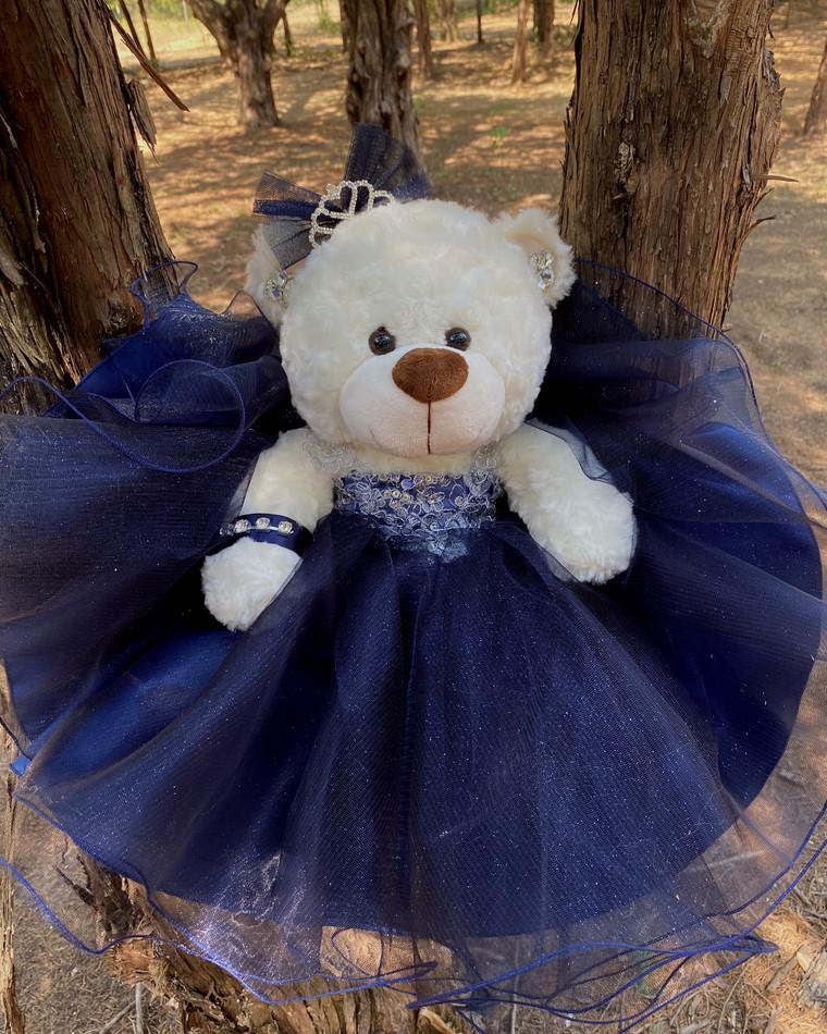 """17"""" Quinceanera Teddy Bear Last Toy #QBR14NB"""