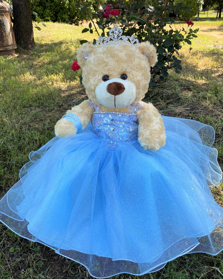 "17"" Quinceanera Teddy Bear #QBR102"